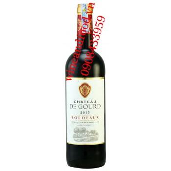 Rượu vang chateau de Gourd Bordeaux 750ml