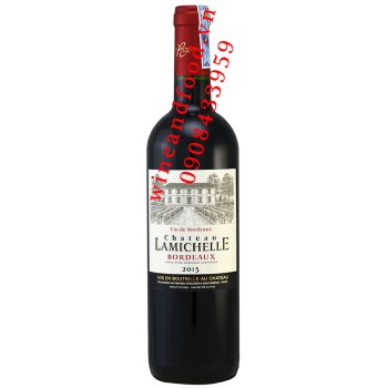 Rượu vang chateau Lamichelle 750ml