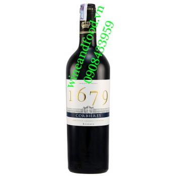 Rượu vang 1679 nhập từ Pháp