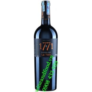 Rượu vang 1771 Domaine La Yole 750ml