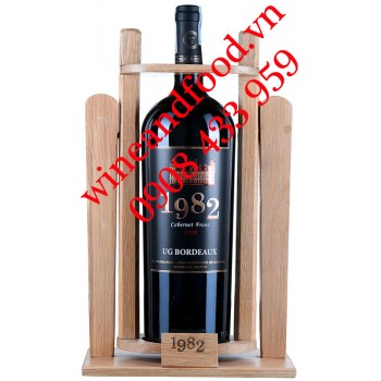 Rượu vang 1982 Cabernet Franc 1 Lít 5