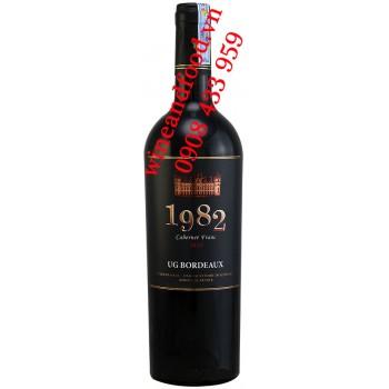 Rượu vang 1982 Cabernet Franc 750ml