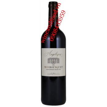 Rượu vang Angelique de Monbousquet 750ml