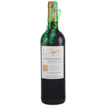 Rượu vang Ardeche Cabernet Sauvignon IGP
