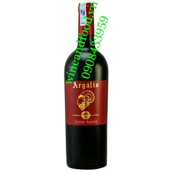 Rượu vang Argalis Cuvee Rouge 750ml