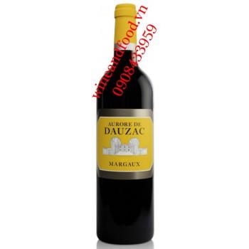 Rượu vang Aurore de Dauzac 2015