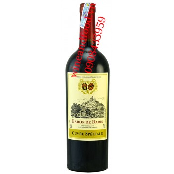 Rượu vang Baron de Baris Cuvee Speciale 750ml