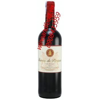 Rượu vang Baron de Perissac 2014