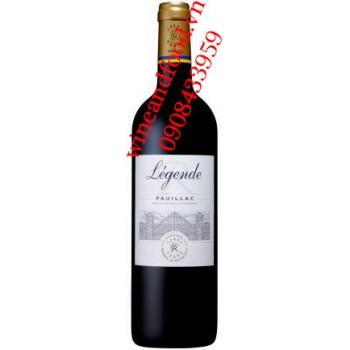 Rượu vang Barons de Rothschild Lafite Legende Pauillac