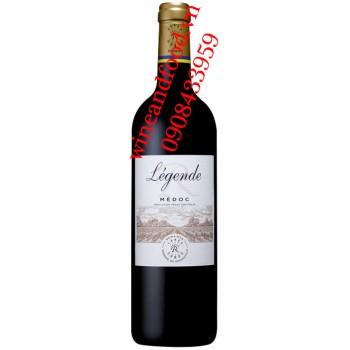 Rượu vang Barons de Rothschild Legende Medoc 750ml