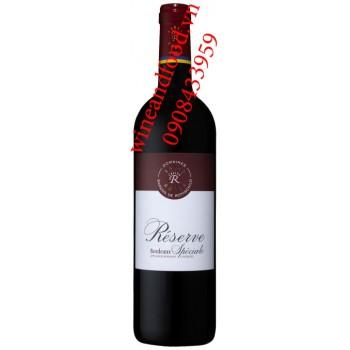 Rượu vang Barons de Rothschild Reserve Speciale Bordeaux 750ml