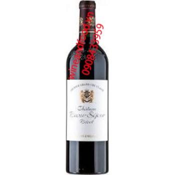Rượu vang Beausejour Becot 2006