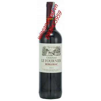 Rượu vang Bergerac Chateau Le Fournier 2011