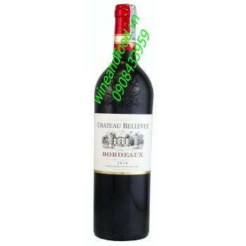 Rượu vang Bordeaux chateau Bellevue 2014