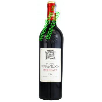 Rượu vang Bordeaux Chateau Du Pavillon 750ml