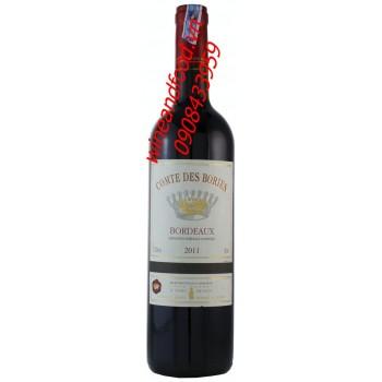 Rượu vang Bordeaux Comte Des Bories 2011