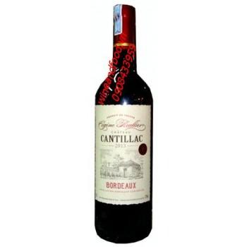 Rượu vang Bordeaux Cugene Reullier Chateau Cantillac
