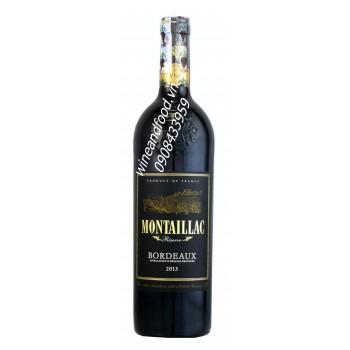 Rượu vang Bordeaux Montaillac 2013