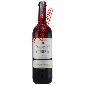 Rượu vang Bordeaux Kressmann