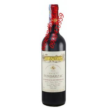 Rượu vang Bordeaux superieur chateau Fondarzac