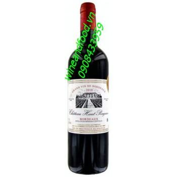 Rượu vang Bordeaux Superieur Chateau Haut Pougnan
