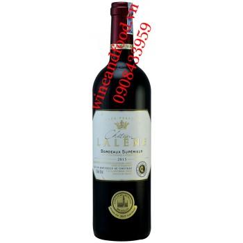 Rượu vang Bordeaux Superieur Chateau Lalene