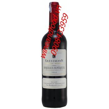 Rượu vang Bordeaux superieur Kressmann