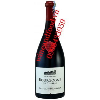 Rượu vang Bourgogne du Chateau Chateau de Marsannay