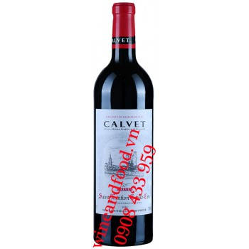 Rượu vang Calvet Saint Emilion Grand Cru 750ml