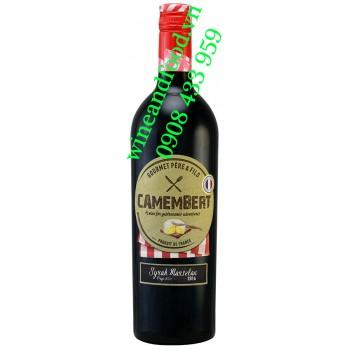 Rượu vang Camembert Gourmet Pere Fils Syrah Marselan