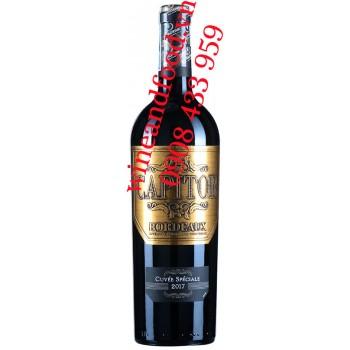 Rượu vang Capitor Bordeaux Cuvée Speciale 750ml