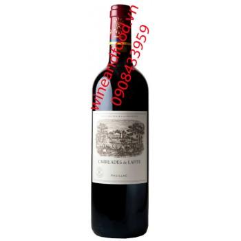 Rượu vang Carruades de Lafite