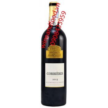Rượu vang Chateau Auzolle Corbieres