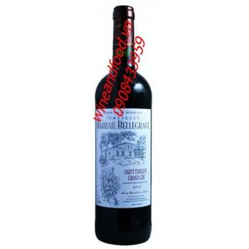 Rượu vang Chateau Barrail Bellegrave Saint Emilion Grand Cru