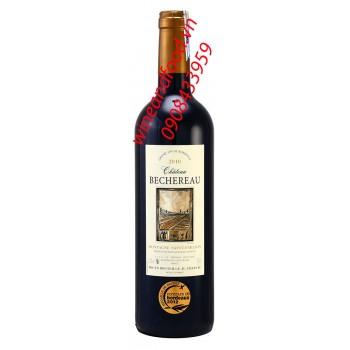 Rượu vang Chateau Bechereau Montagne Saint Emilion