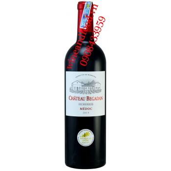 Rượu vang chateau Begadan Cru Bourgeois Medoc 750ml