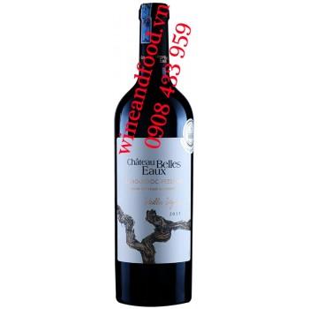 Rượu vang chateau Belles Eaux Languedoc Pezenas 750ml