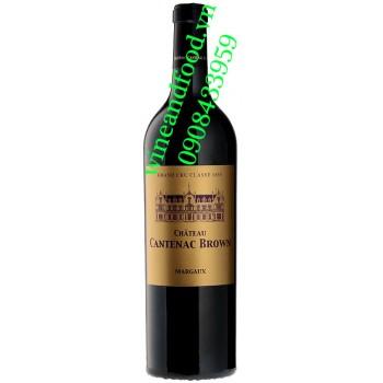 Rượu vang chateau Cantenac Brown 2014