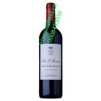 Rượu vang chateau Clos Saint Martin 2010