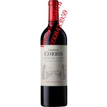 Rượu vang chateau Corbin Grand Cru Classe 2014
