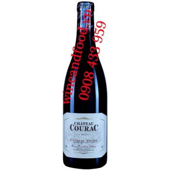 Rượu vang chateau Courac Côtes du Rhône 750ml