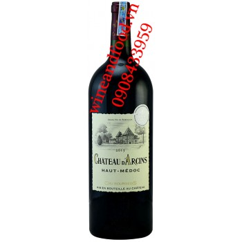 Rượu vang chateau D'Arcins Haut Medoc Cru Bourgeois 1l50