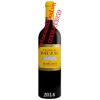 Rượu vang chateau Dauzac 2014