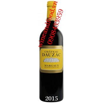 Rượu vang chateau Dauzac 2015