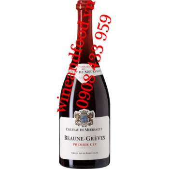 Rượu vang chateau de Meursault Beaune Greves Premier Cru 750ml