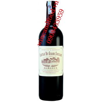 Rượu vang chateau du Grand Soussans Margaux 750ml