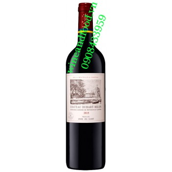 Rượu vang chateau Duhart Milon 750ml