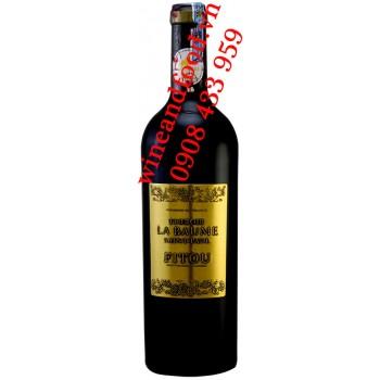 Rượu vang chateau Fitou Terroir La Baume Saint Paul