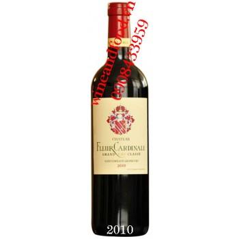 Rượu vang chateau Fleur Cardinale 2010