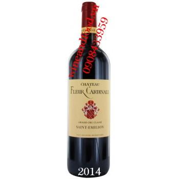 Rượu vang chateau Fleur Cardinale 2014